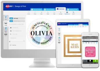 Avery Design & Print Software - Create professional, personalized labels in minutes