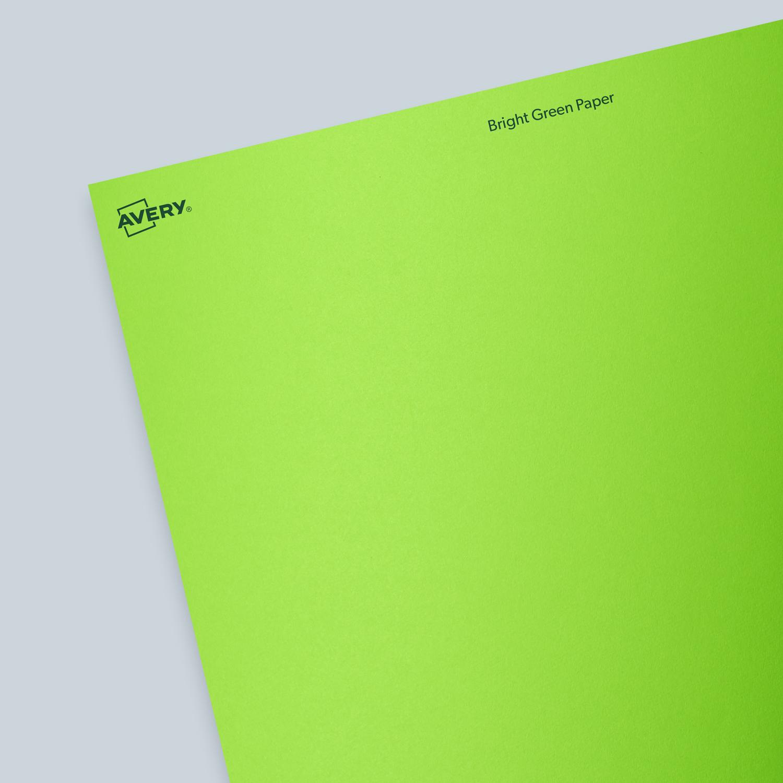 ASTROBRIGHTS® Terra GreenTM Paper - Blank Sheet Labels